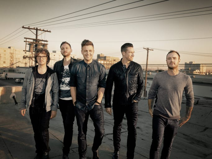 """<b>6/1: ONEREPUBLIC --</b>Led by Ryan Tedder, OneRepublic broke through with """"Apologize,"""" a five-times-platinum smash from 2007. Subsequent hits include """"Stop and Stare,"""" """"All the Right Moves,"""" """"Secrets"""" and their latest Top 10 single, """"Counting Stars."""" Details: 7 p.m. Sunday, June 1. Ak-Chin Pavilion, 2121 N. 83rd Ave., Phoenix. $26-$91. 800-745-3000, livenation.com.<p></p>"""