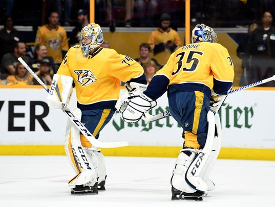 NHL: Stanley Cup Playoffs-Winnipeg Jets at Nashville Predators