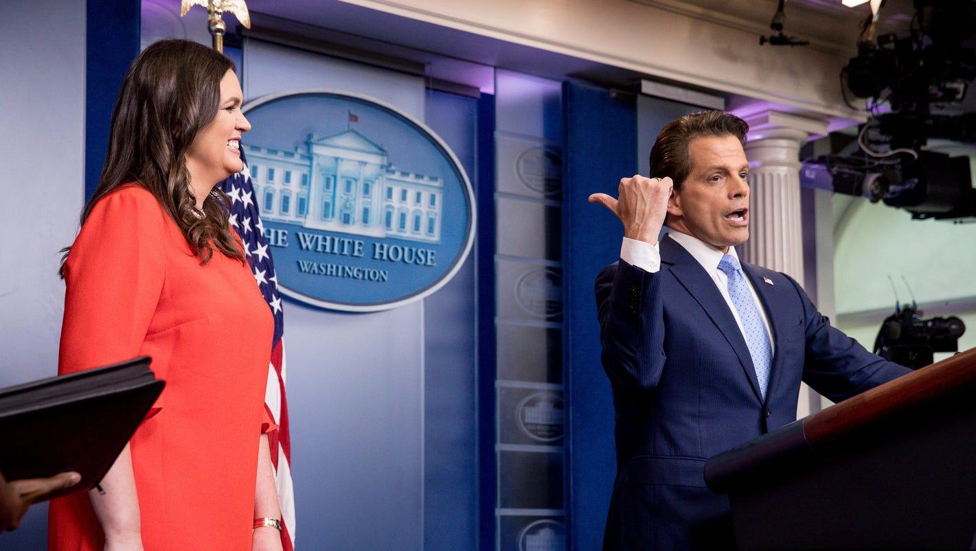 sarah huckabee sanders is the next white house press secretary