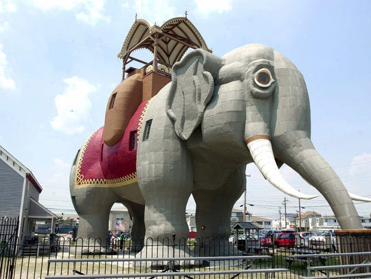 Lucy the Elephant is a favorite 'Weird Jersey' attraction