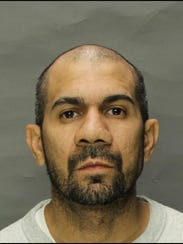 Ricardo Santiago, 39, Lebanon, was arrested on May