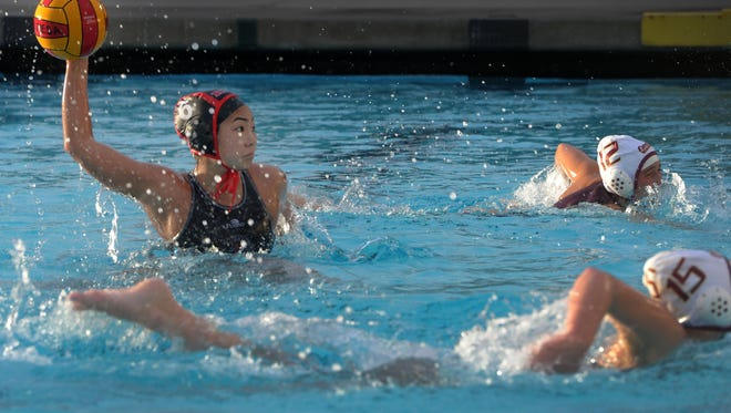 Rio Mesa's Elyse Koe was named the top girls water polo player in the Pacific View League.