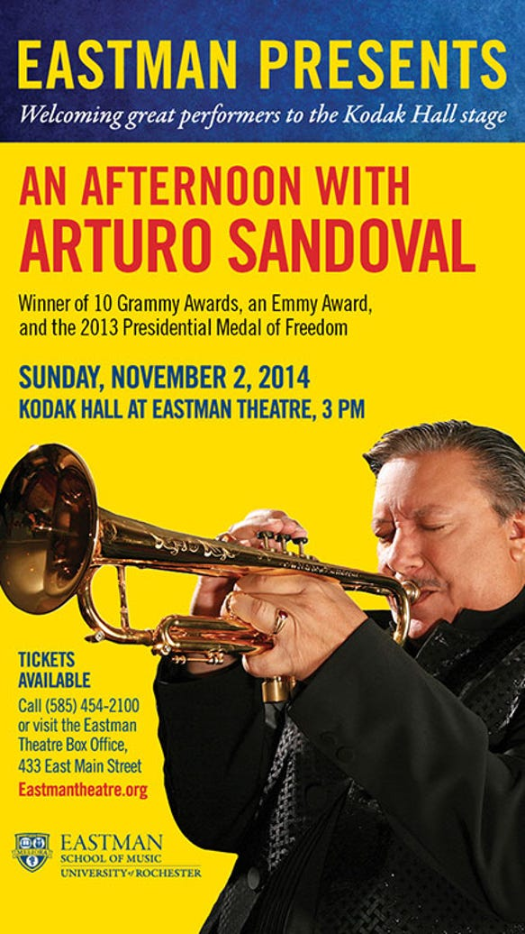 Grammy Winner and Cuban Jazz Legend Arturo Sandoval