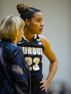 """Tragedy has given Purdue captain Liza Clemons new perspective. When other players crab about a tough practice, Clemons tells them to calm down: """"You're still here."""""""