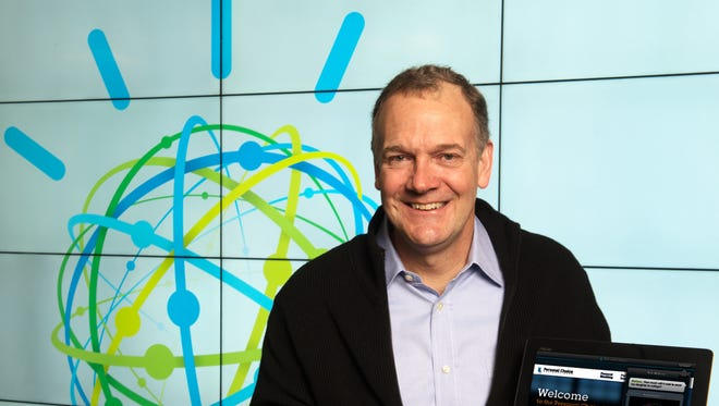 IBM, with Senior Vice President Mike Rhodin here, is leading efforts to tap big data.