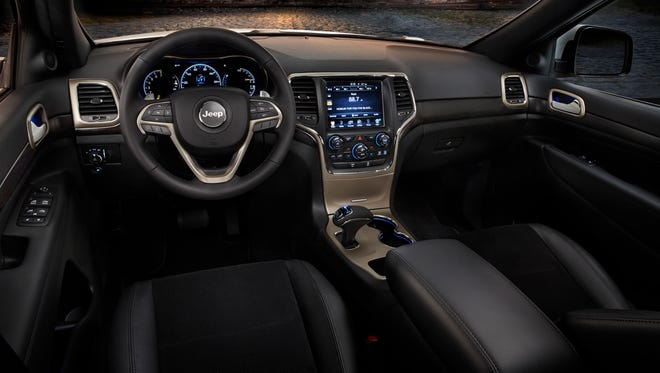 Jeep Grand Cherokee had one of the best interiors