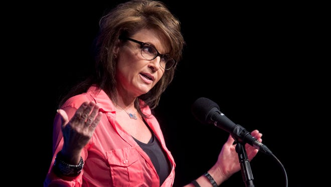 Sarah Palin and her family were at a birthday party gone bad in Anchorage.