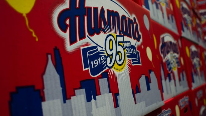 Husman's potato chips was started in Cincinnati in the year 1919 by 24-year-old Harry Husman.