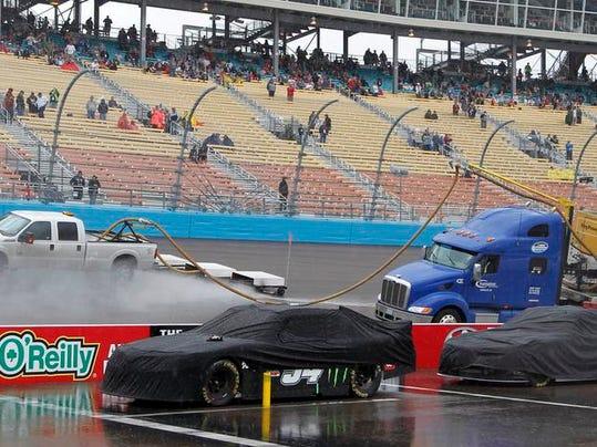 NASCAR Nationwide Phoenix Auto Racing