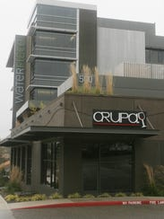 Orupa's rooftop bar will be decked out with champagne,