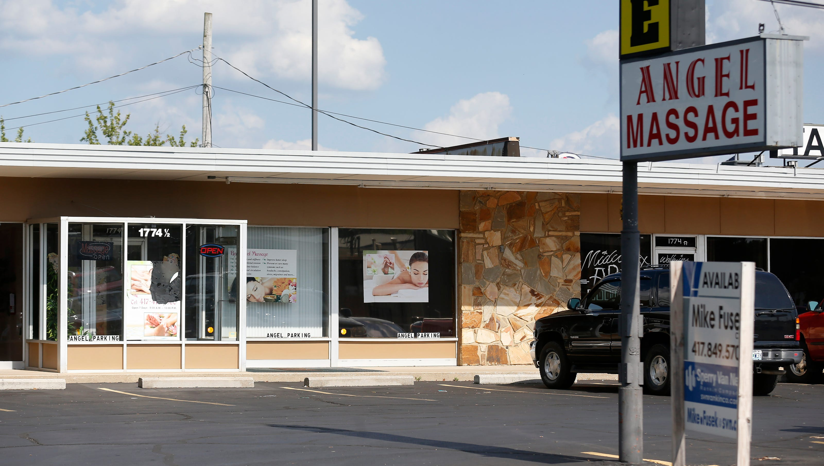 Customers Others Discuss Raids On Asian Massage Parlors