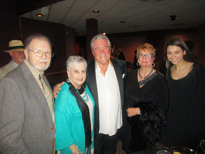 Zack and Betty Young, Bob and Judy Dunn and Matilda