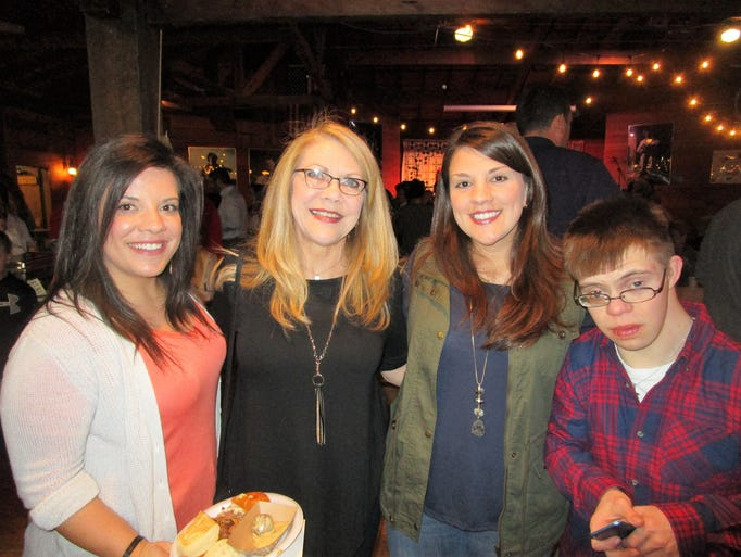 Michelle Maurin, Pam, Hilary and Travis McFarland