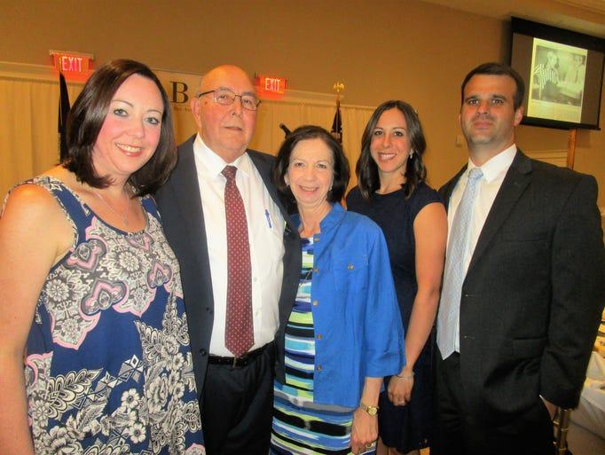 Pam Block, Gerald and Linda Block, Jennifer and David