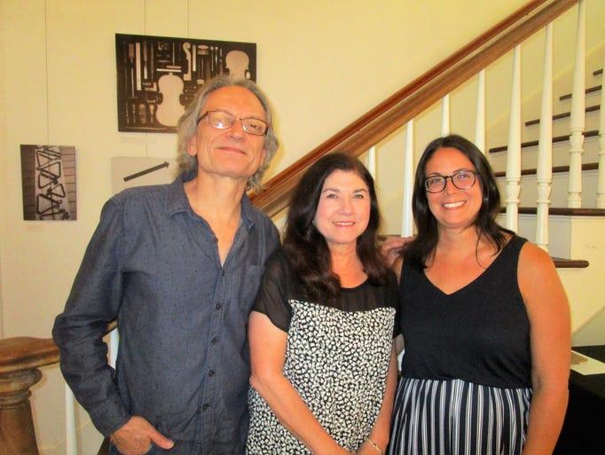 Sonny Landreth, Megan Barras and Erin Bass