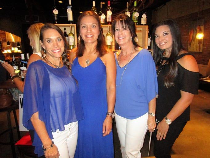 Karen Juneau, Jill Prudhomme, Vicki Elliott and Amanda