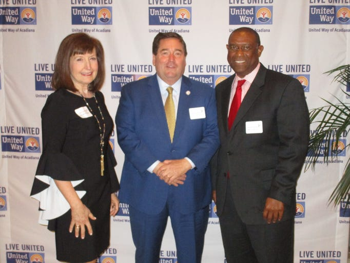 Margaret Trahan, Billy Nungesser and Robert Benoit
