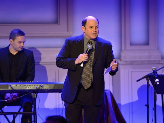Jason Alexander, shown here performing in Beverly Hills in 2014, is headed to The Borgata's Music Box for a show at 8 p.m. Saturday, Sept. 29 with the Bay Atlantic Symphony: