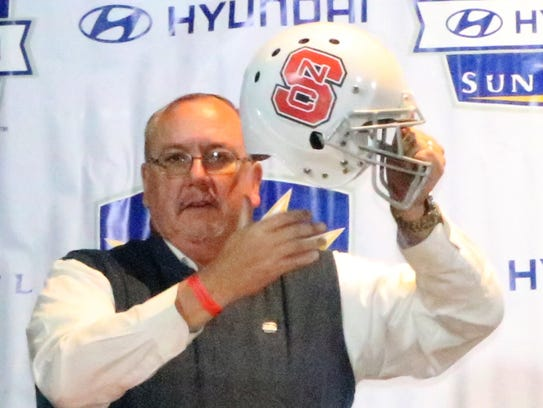 Bill Coon, board president of the Sun Bowl Association