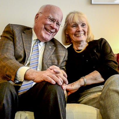 Patrick and Marcelle Leahy discuss their more than