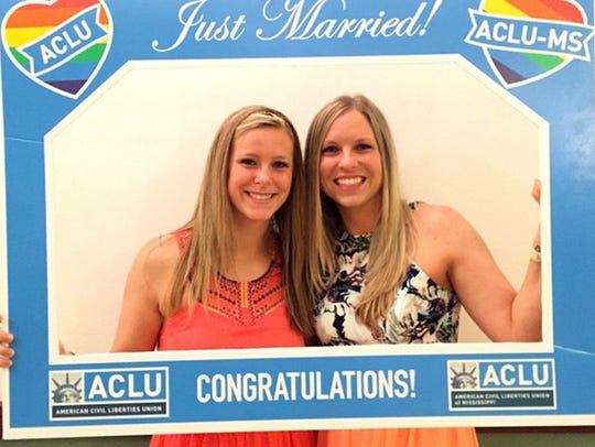 Laurin Locke and  Tiffany Brosh are officially married
