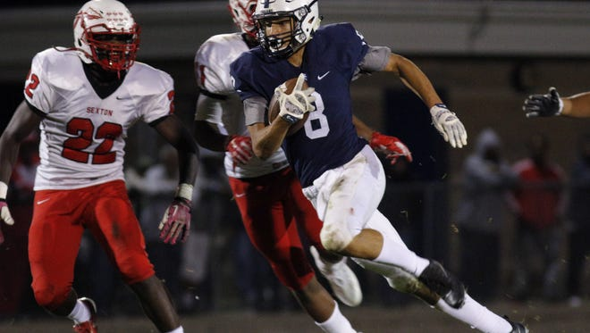East Lansing safety/receiver Blake Underwood has verbally committed to Miami (Ohio).