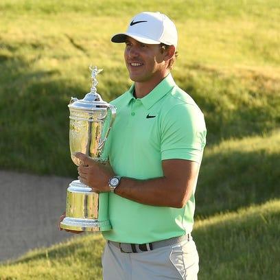 Brooks Koepka's worldwide golf odyssey culminates in U.S. Open title