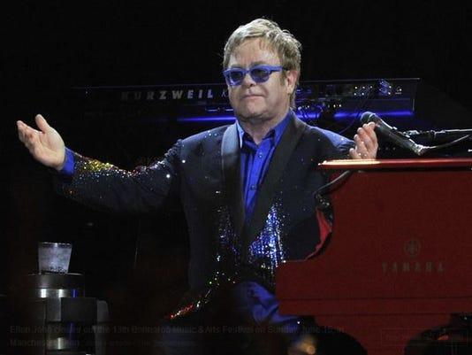 Bonnaroo Elton John