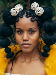 """Earlier this year, self-described """"amateur"""" photographer Justin Hardiman of Jackson got the opportunity to shoot a natural hair event put on by Solange Knowles' Saint Heron style brand."""