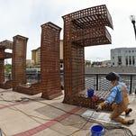 Burning Man sculpture 'Believe'in Reno