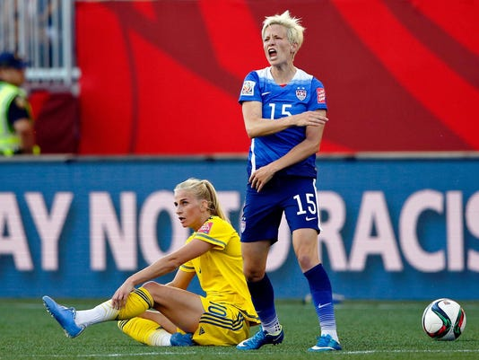 Soccer: Women's World Cup-United States at Sweden