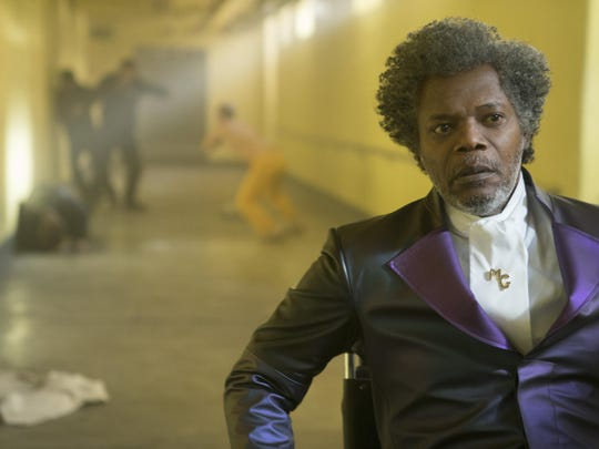 """Samuel L. Jackson stars in M. Night Shyamalan's """"Glass."""" The movie is playing at Regal West Manchester Stadium 13 and R/C Hanover Movies."""
