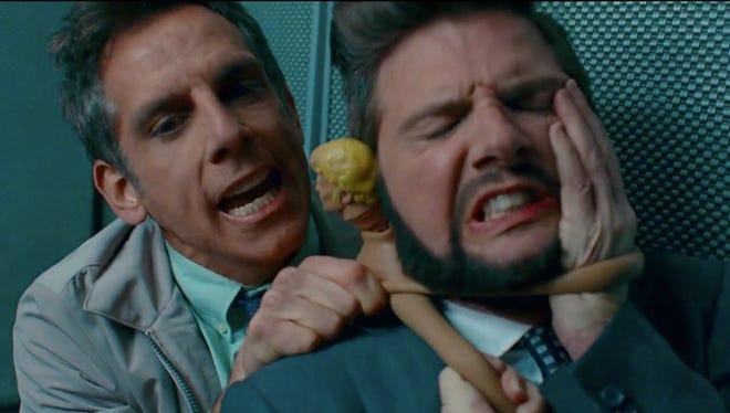 Ben Stiller, left, and Adam Scott star in 'The Secret Life of Walter Mitty.'