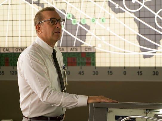 Kevin Costner as NASA head honcho Al Harrison in 'Hidden