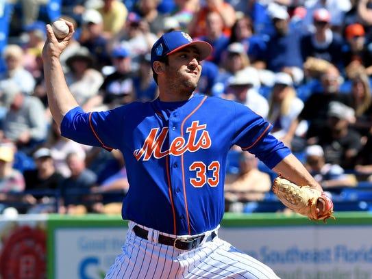 Mar 5, 2018; Port St. Lucie, FL, USA; New York Mets