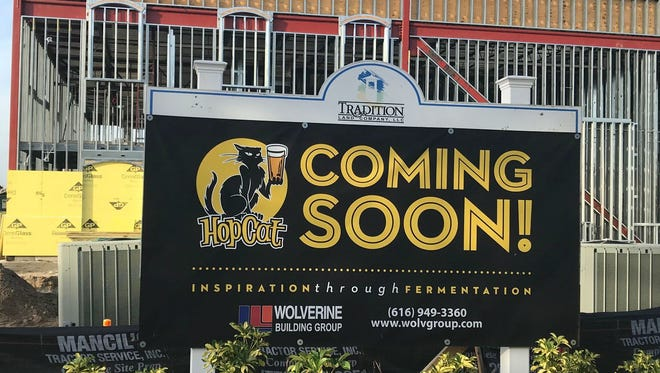 Hopcat restaurant and beer bar is coming soon to Tradition Square in Port St. Lucie.