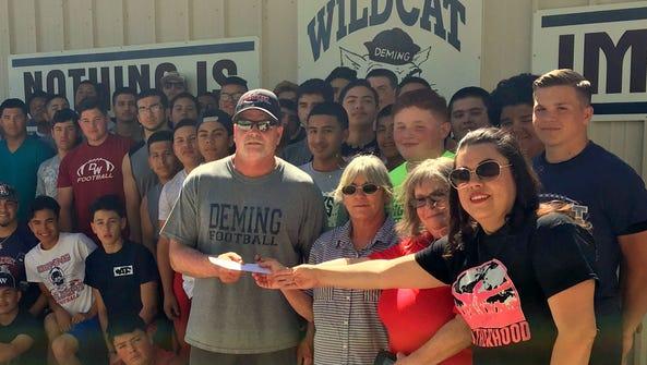 Deming High School Football Coach Greg Simmons accepted