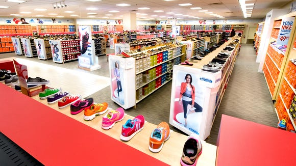 Famous Footwear will be giving away 100 pairs of free shoes during an April 23 grand opening event at its new Middletown store.