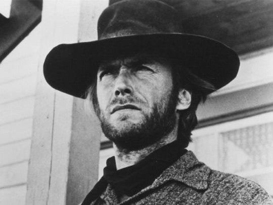 "Clint Eastwood stars as 'The Stranger' in ""High Plains"