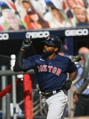Jackie Bradley Jr. made a strong contract push with the Red Sox in 2020.