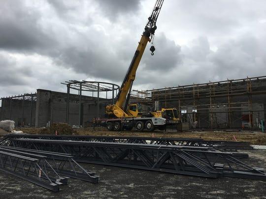 Construction at Boone County Schools' new Ballyshannon