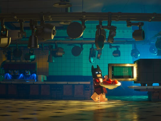 """The beautiful kitchen from """"The Lego Batman Movie."""""""