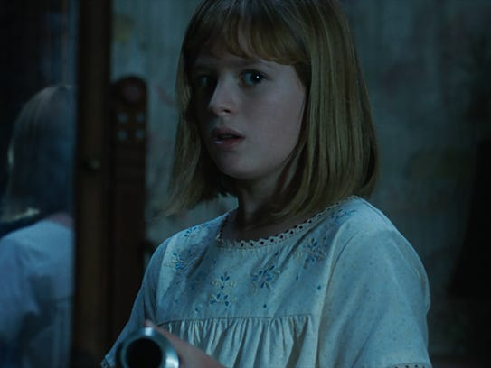The Annabelle doll and Lulu Wilson as Linda in supernatural