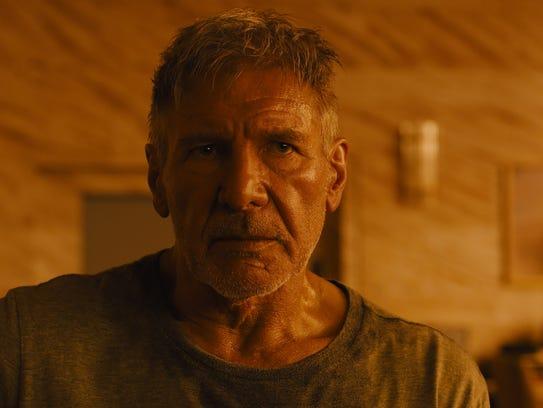 "Harrison Ford returns as Deckard in ""Blade Runner 2049."""