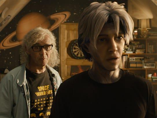 Mark Rylance (left) plays Anorak and Tye Sheridan is