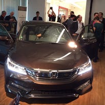 Honda unveiled its 2016 Accord not at an auto show but rather at the opening of the company's expanded R&D facility in Silicon Valley.