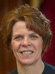 Judge Carol Van Horn was photographed in her office