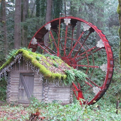 When the water-wheel turns near Gates