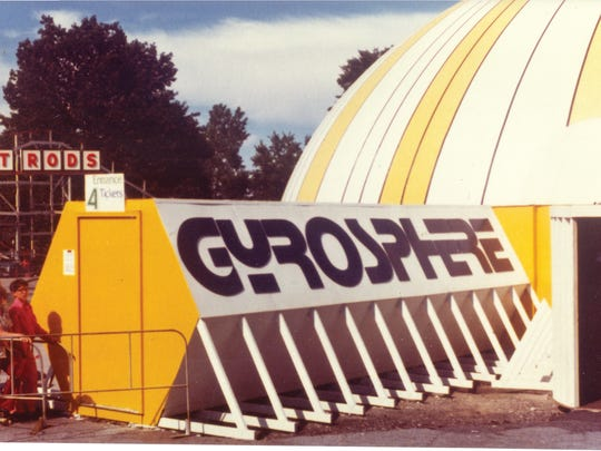 The Gyrosphere was once a much-loved ride that was at Seabreeze Amusement Park.