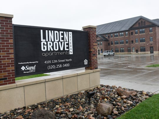 People began moving in to their apartments at the Linden